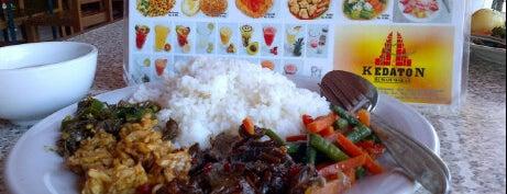 "Kedaton Rumah Makan is one of Bali ""Jaan"" Culinary."