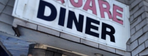Square Diner is one of Lets go 200.