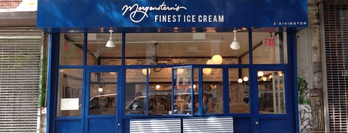 Morgenstern's Finest Ice Cream is one of New York - General.