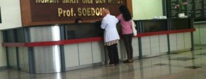 Fakultas Kedokteran Gigi is one of UGM.