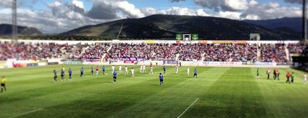 Nuevo Estadio de la Victoria is one of Campos de fútbol.