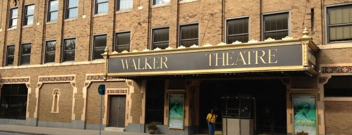 Madame Walker Theatre Center is one of Indiana's National Historic Landmarks.