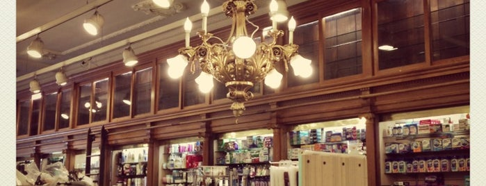 CO Bigelow Pharmacy is one of NYC Beauty Spots.