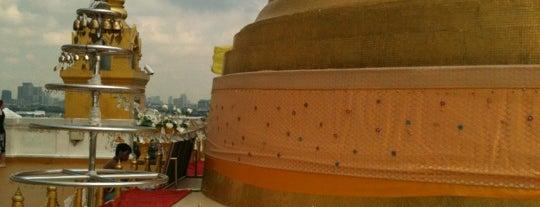 พระบรมบรรพต (ภูเขาทอง) Golden Mount is one of Bangkok (กรุงเทพมหานคร).