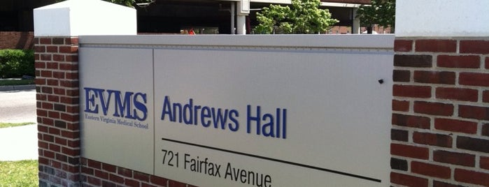 Andrews Hall is one of Most Frequented by Me!.