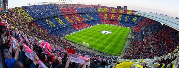 Camp Nou is one of UEFA Champions League finals.