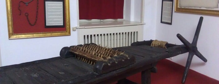 Museum of Medieval Torture Instruments is one of The Other Prague....