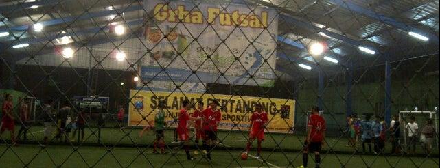 Graha Futsal Giant Rajawali is one of Lapangan Futsal.