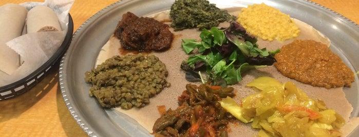 Taste of Ethiopia is one of 20 favorite restaurants.