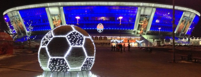 Donbass Arena / Донбасс Арена is one of UEFA EURO 2012 venues.