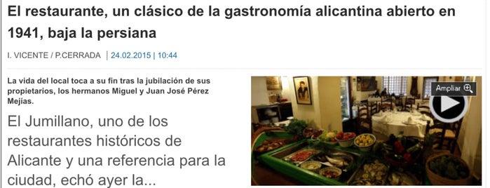 El Jumillano is one of los mejores sitios para comer en Alicante.