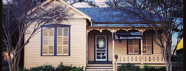 O. Henry House and Museum is one of Hook 'Em Horns- Austin.
