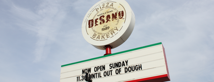 DeSano Pizza Bakery is one of Need to try.