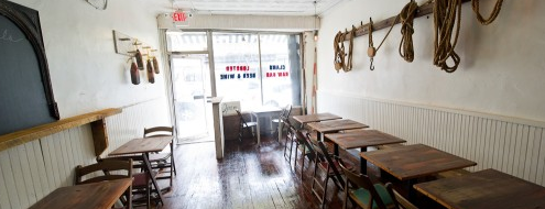 Littleneck is one of NYC Eater 38.