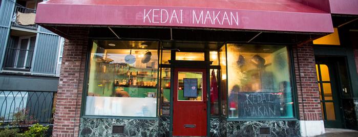 Kedai Makan is one of Seattle Eater 38.