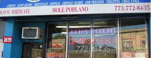 Cemitas Puebla is one of Chicago Eater 38.