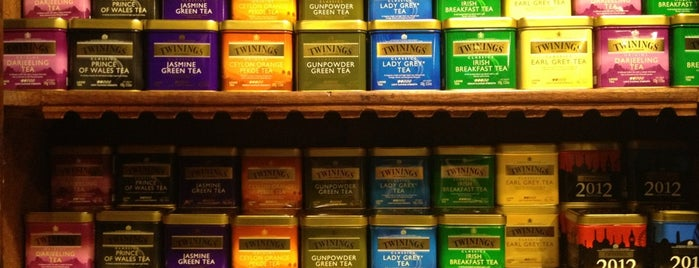 The Tea Caddy is one of Epcot World Showcase.