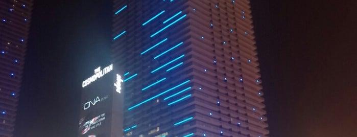 The Cosmopolitan of Las Vegas is one of Vegas Baby!!.