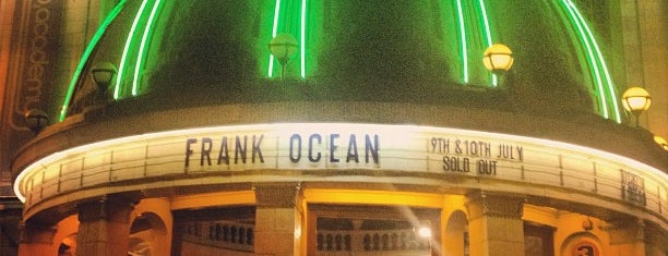 O2 Academy is one of Live Venues.