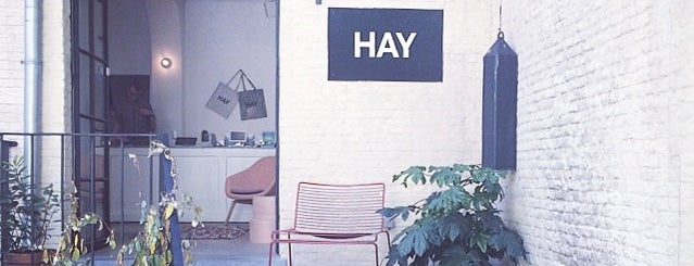 HAY is one of Shopping loves Antwerp.