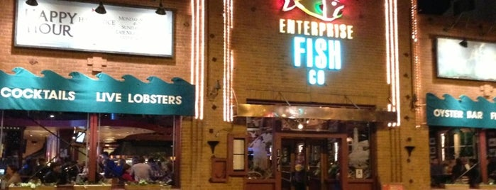 Enterprise Fish Co. is one of Seafood places in Santa Monica and Venice, CA.