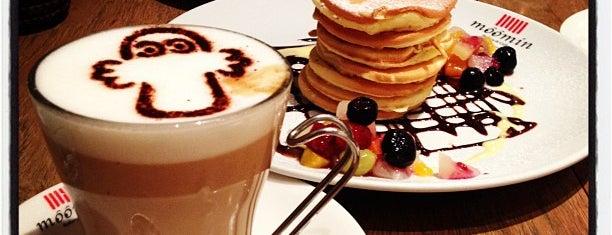 ムーミンベーカリー&カフェ 東京ドームシティラクーア店 is one of KAMIの喫茶食事飲み処.