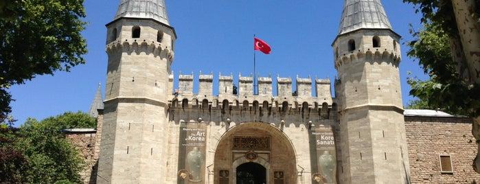 Topkapı Palace is one of istanbul turist stayla.