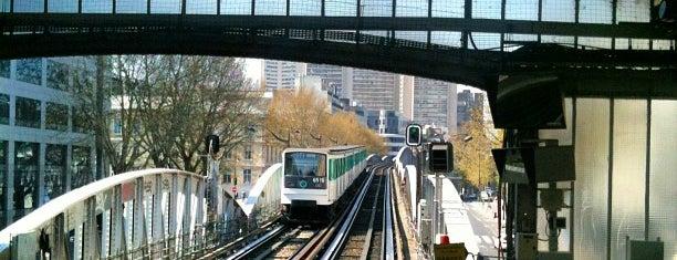 Métro Quai de la Gare [6] is one of Métro de Paris.