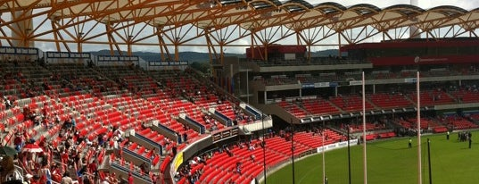 Metricon Stadium is one of Gold Coast.