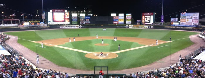 Frontier Field is one of Visit to Buffalo.