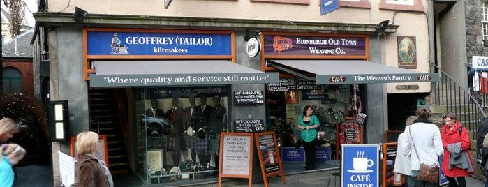 Geoffrey Tailor Kiltmakers is one of Edinburgh.