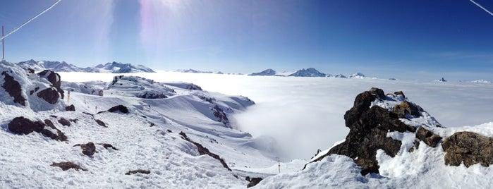 Whistler Mtn. Peak is one of Ski Bum Badge.