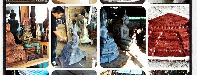 โรงหล่อพระบูรณะไทยจ่าทวี is one of Phitsanulok (พิษณุโลก).