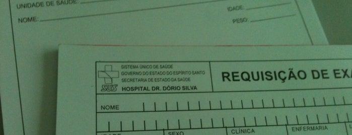 Hospital Estadual Dr. Dório Silva (HDS) is one of Hospitais.