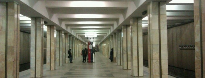 Метро Щукинская (metro Shchukinskaya) is one of Complete list of Moscow subway stations.