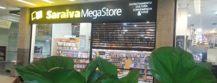 Saraiva MegaStore is one of Gustavo.