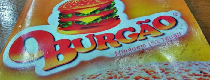 O Burgão is one of 20 favorite restaurants.