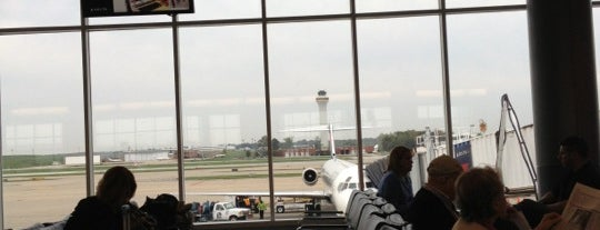 Gate B5 is one of Cincinnati Airport.