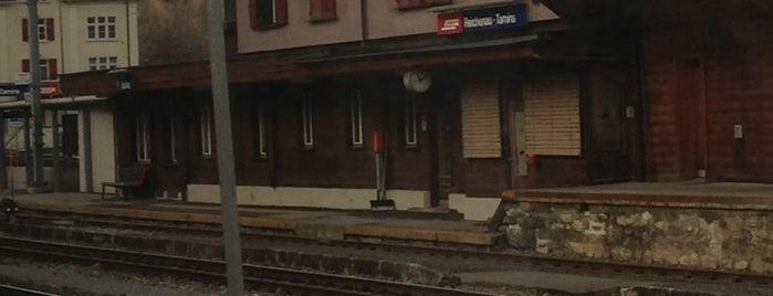 Bahnhof Reichenau-Tamins is one of Bahnhöfe Top 200 Schweiz.
