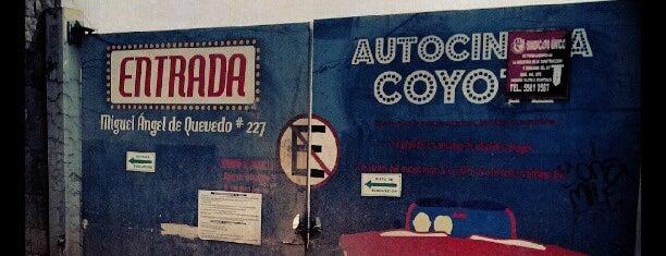 Autocinema El Coyote is one of Pequeños lugares para el corazón....