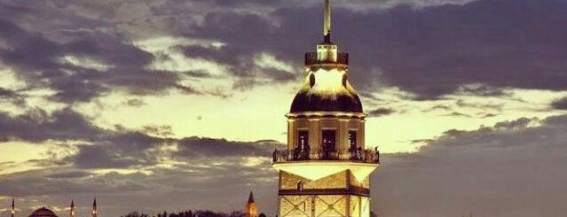 Kız Kulesi is one of Tertemiz mekanlar ;).