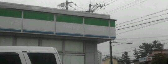 ファミリーマート 羽咋市役所前店 is one of Hakui 羽咋.