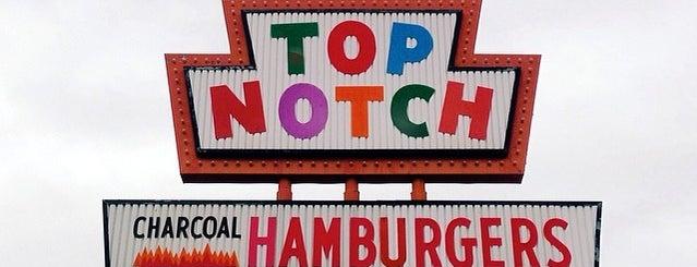 Top Notch is one of Hook 'Em Horns- Austin.