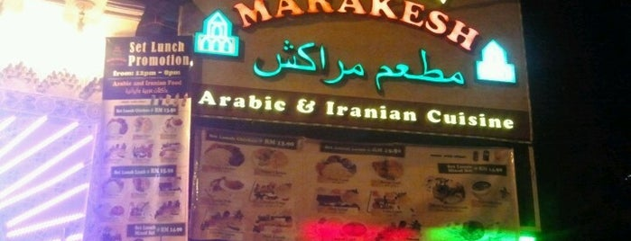 Marakesh: Arab Moroccan Restaurant is one of SHISHA BERKUASA TINGGI.