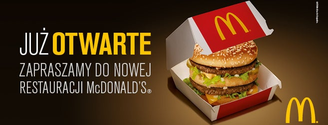 McDonald's / McCafé / McDrive is one of Foursquare Specials in Poland.
