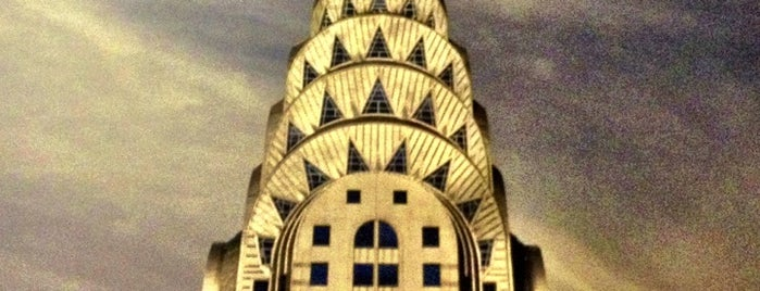 Chrysler Building is one of NYC.