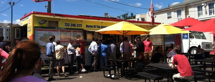 Rutgers Grease Trucks is one of Want to Try!!.