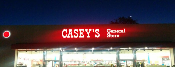 Casey's General Store is one of frequent flyers :).
