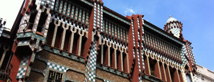 Casa Vicens is one of Follow Gaudí around Barcelona.