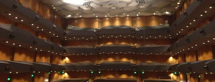 Orchestra Hall is one of Music.